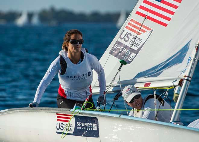 ISAF Sailing World Cup Miami 2014 - Day 2 © Walter Cooper /US Sailing http://ussailing.org/