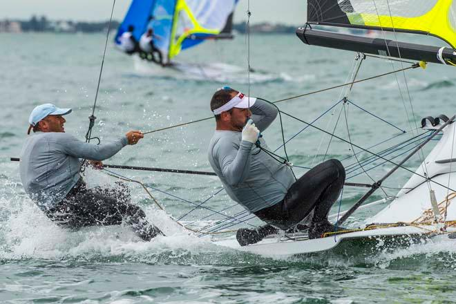 ISAF Sailing World Cup Miami 2014 - Day 4 © Walter Cooper /US Sailing http://ussailing.org/