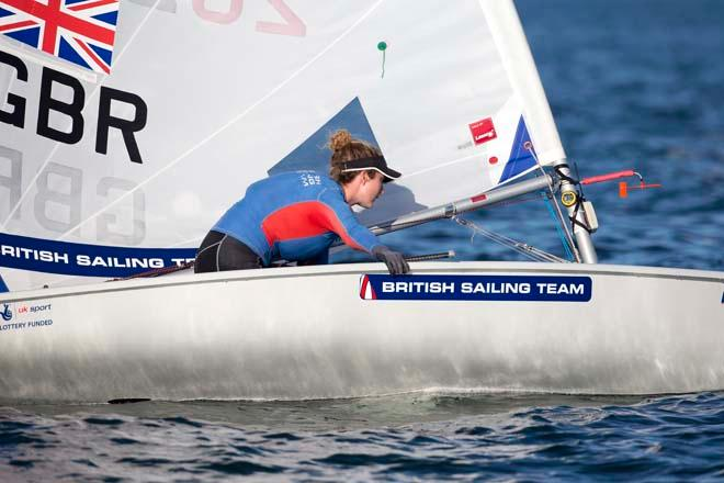 Hannah Snellgrove, Laser Radial - ISAF Sailing World Cup Miami 2014 © Richard Langdon /Ocean Images http://www.oceanimages.co.uk