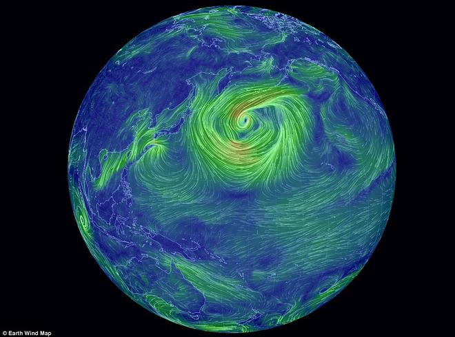 Earth Wind Map Beautiful Delicate And Oh So Revealing