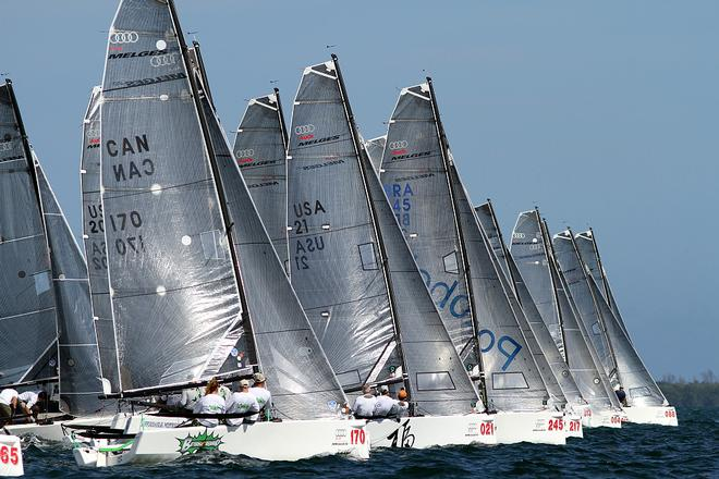 2014 Audi Melges 20 Miami Winter Regatta © 2013 JOY / Int'l Audi Melges 20 Class Association http://melges20.com/