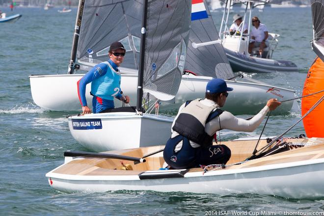 ISAF Sailing World Cup Miami 2014 © Thom Touw http://www.thomtouw.com