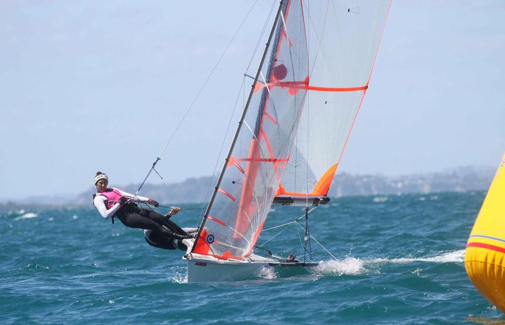 Felicity & Philip - 29er NZ Nationals 2014 © John Adair