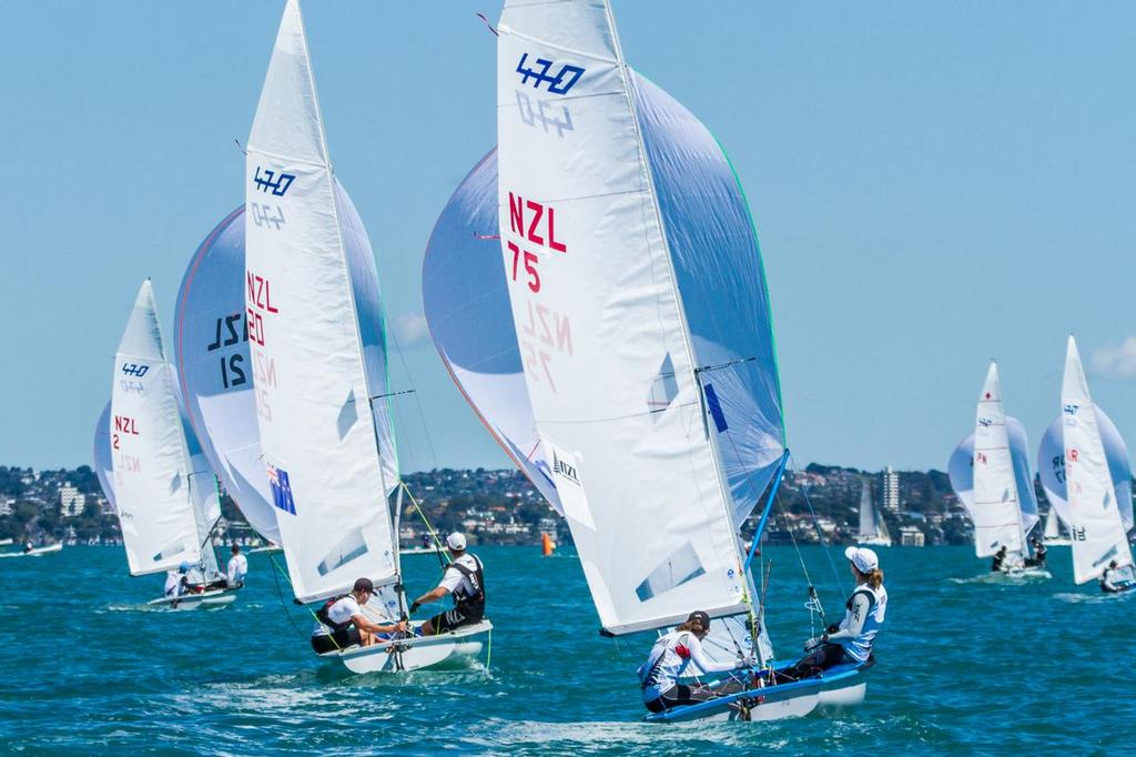 470 Fleet - Day 2 Oceanbridge Sail Auckland © Oceanbridge Sail Auckland