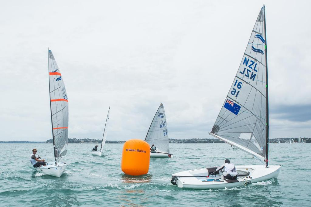 Andrew and Josh - Oceanbridge Sail Auckland 2014, Day 4 © Oceanbridge Sail Auckland