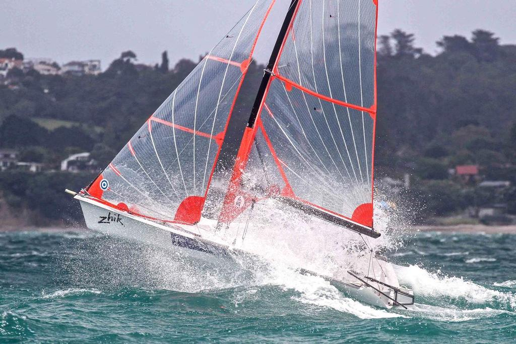 Markus Somerville & Isaac McHardie - 2014 29er Nationals, Murray's Bay SC © John Adair