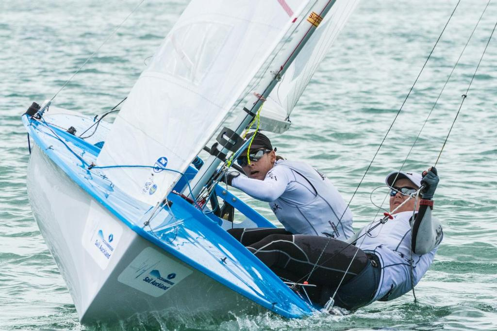 Jo and Polly-3 - Oceanbridge Sail Auckland 2014, Day 4 © Oceanbridge Sail Auckland