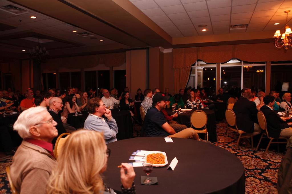 An attentive audience in Oakville - Jobson-Reid at 1Design © National One Design Sailing Academy http://www.1dsailing.com