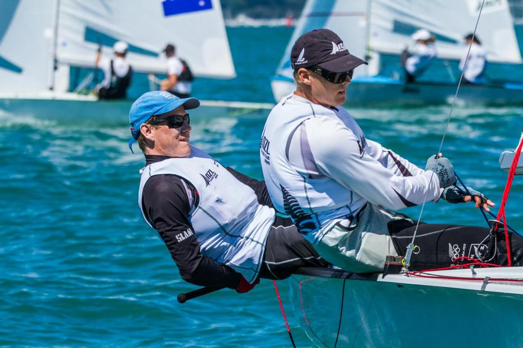 Paul Snow-Hansen and Daniel Willcox - Day 2 Oceanbridge Sail Auckland © Oceanbridge Sail Auckland