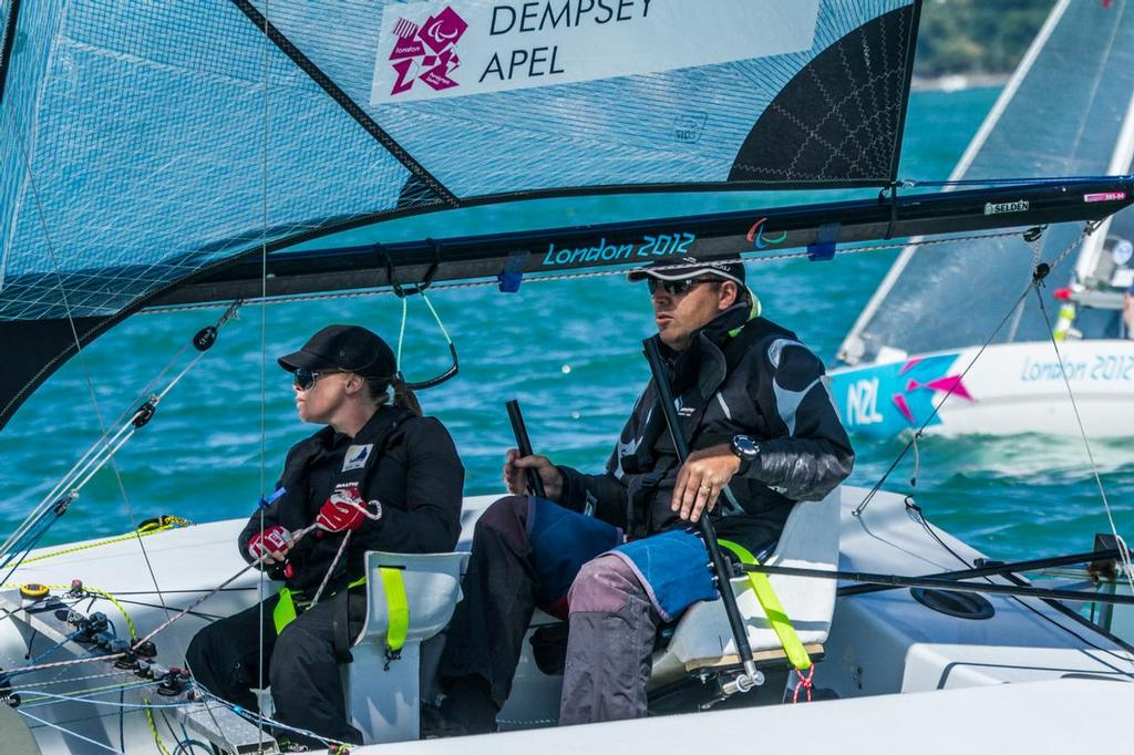 Tim Dempsey and Gemma Fletcher - Day 2 Oceanbridge Sail Auckland © Oceanbridge Sail Auckland
