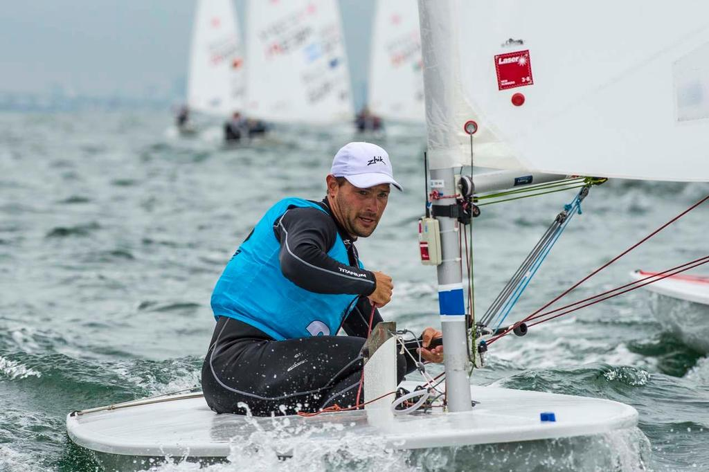 Tonci Stipanovic (CRO), Laser - 2014 ISAF Sailing World Cup Miami © Walter Cooper /US Sailing http://ussailing.org/