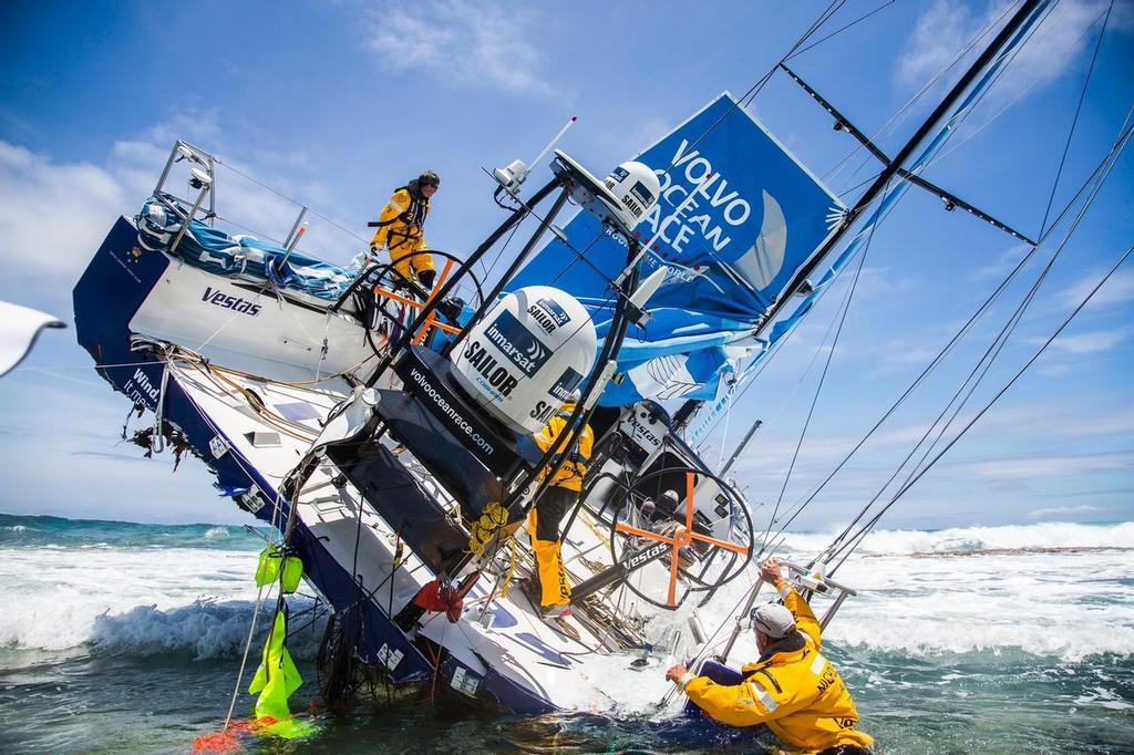 Volvo Ocean Race- Chris Nicholson Interview - Part 2 - On the Rocks
