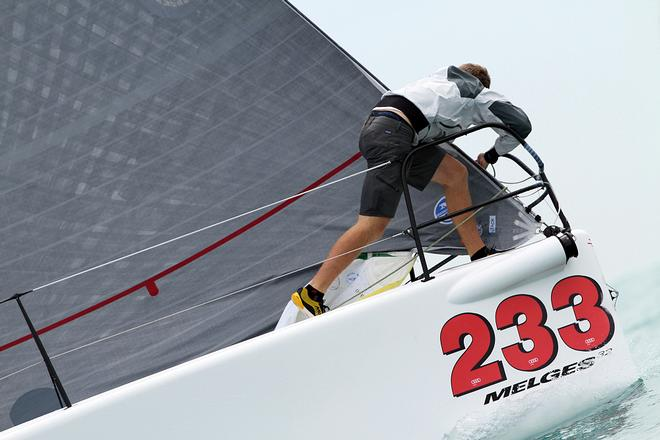 2014 Melges 32 Miami Winter Regatta | Winter Series Event No. 2 - DAY 1 © JOY - International Melges 32 Class Association http://melges32.com/