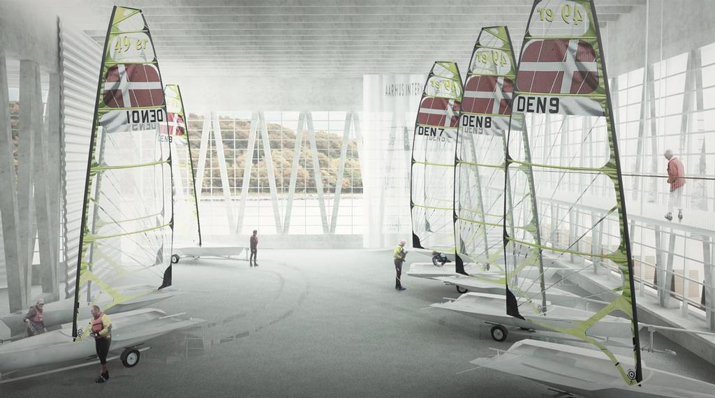 Aarhus Internationale Sejlsportscenter - Aarhus International Sailing Centre is close to becoming a reality © Dan Ibsen