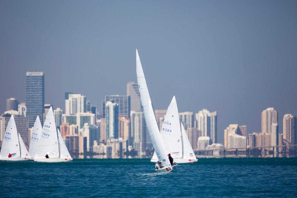 The Star Fleet at Bacardi Miami Sailing Week 2013 ©  Cory Silken