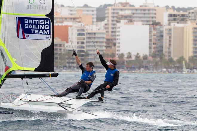 2014 ISAF Sailing World Cup Mallorca, day 3 - 49er © Thom Touw http://www.thomtouw.com