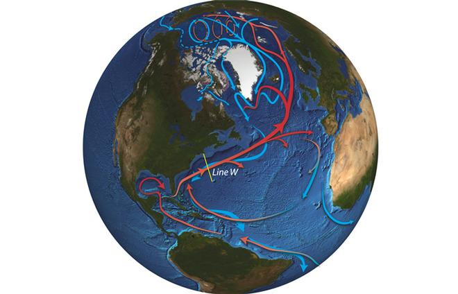 2 - Detours on Oceanic Highway  © WHOI Graphic Services
