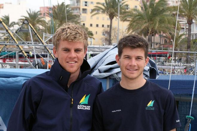 Robert and Matthew Crawford - Australia - ISAF Sailing World Cup Palma 2014 ©  SW