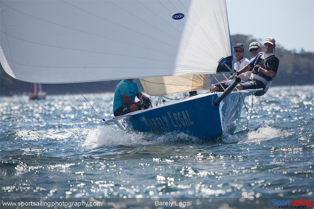 Barely Legal - 2014 HH Sydney Harbour Regatta © Beth Morley - Sport Sailing Photography http://www.sportsailingphotography.com