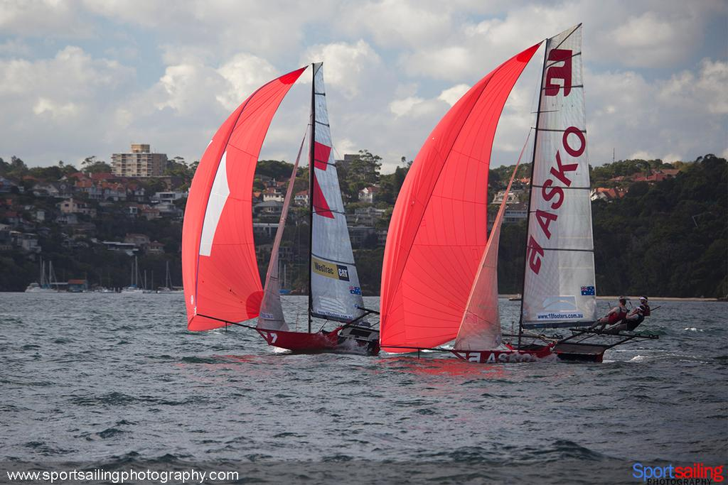 Gotta Luv it 7 Finish - 2014 HH Sydney Harbour Regatta © Beth Morley - Sport Sailing Photography http://www.sportsailingphotography.com