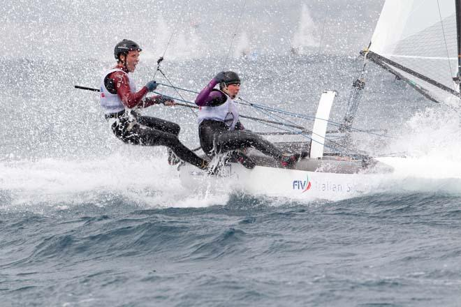 2014 ISAF Sailing World Cup Mallorca, day 4 © Thom Touw http://www.thomtouw.com