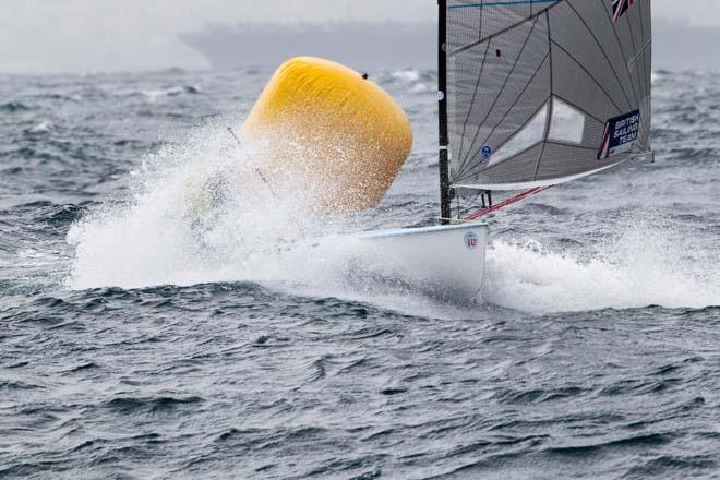 2014 ISAF Sailing World Cup Mallorca, day 4 - Finn © Thom Touw http://www.thomtouw.com