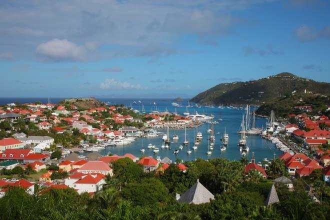 Race Fleet dockside in Gustavia Harbour ©  Tim Wright / Les Voiles de St Barth http://www.lesvoilesdesaintbarth.com/