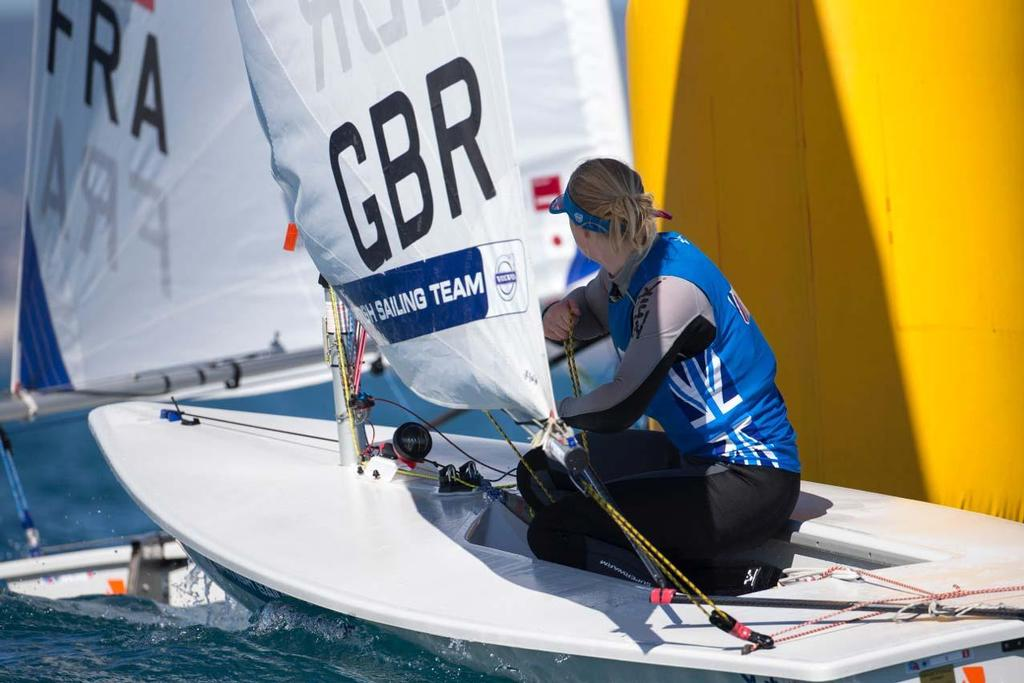 2014 ISAF Sailing World Cup Mallorca - Bronze - Chloe Martin in Laser Radial © Ocean Images