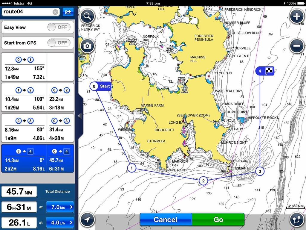 Ipad and sailing boats in Australia/NZ - What works and what doesn't
