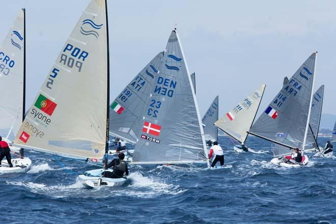 2014 ISAF Sailing World Cup, Hyeres, France - Finn © Thom Touw http://www.thomtouw.com
