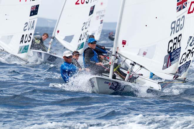 2014 ISAF Sailing World Cup, Hyeres, France - Laser © Thom Touw http://www.thomtouw.com