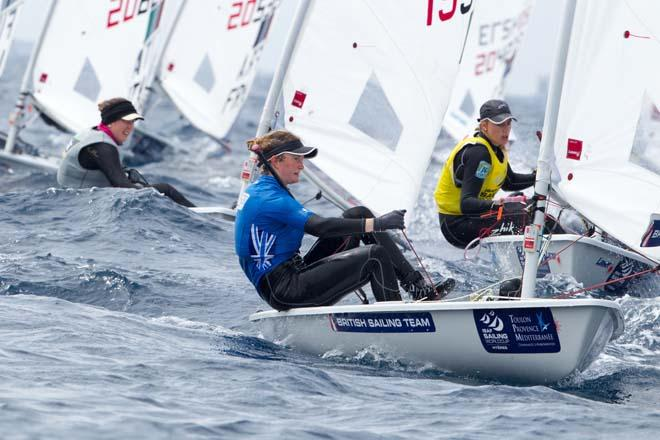 2014 ISAF Sailing World Cup, Hyeres, France - Laser Radial © Thom Touw http://www.thomtouw.com