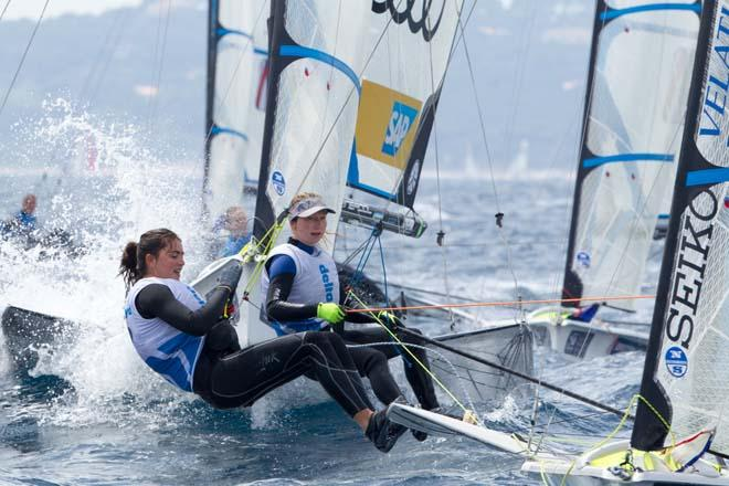2014 ISAF Sailing World Cup, Hyeres, France © Thom Touw http://www.thomtouw.com