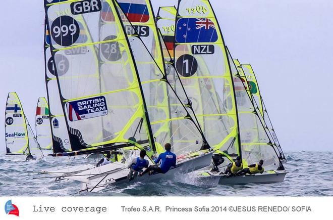 Tricky starting conditions  - Palma - Palma World cup © Jesus Renedo Palma regatta media