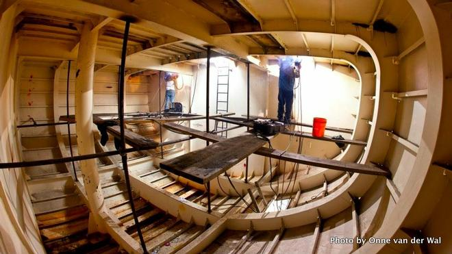 SSV Oliver Hazard Perry Hull Interior C SW