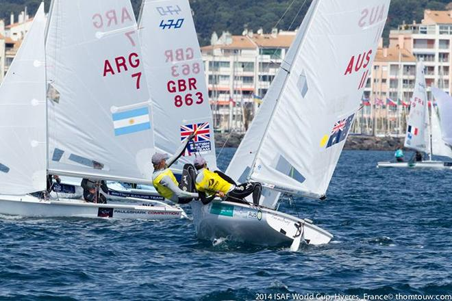 ISAF World Cup Hyeres  © Thom Touw http://www.thomtouw.com
