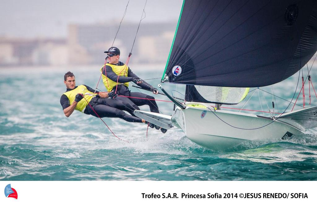 All concentration ... - Palma World cup © Jesus Renedo Palma regatta media