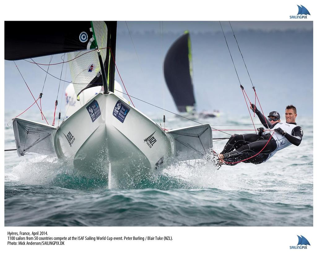 Champagne  conditions Day 1, Hyeres World cup - Palma and Hyeres World cups © Mick Anderson SAILINGPIX.DK