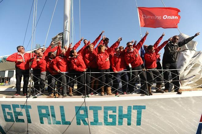 Leg 7 crew of Jamaica Get All Right  © Clipper 13-14 Round the World Yacht Race