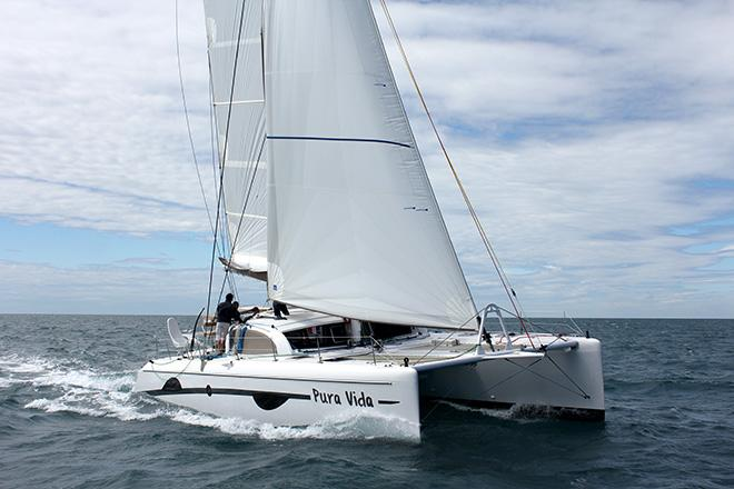Outremer 49 at the Sanctuary Cove Boat Show © Brent Vaughan