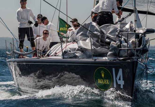 Plenty leads overall standings after Day One of the 2014 Rolex Farr 40 North Americans ©  Rolex/Daniel Forster http://www.regattanews.com