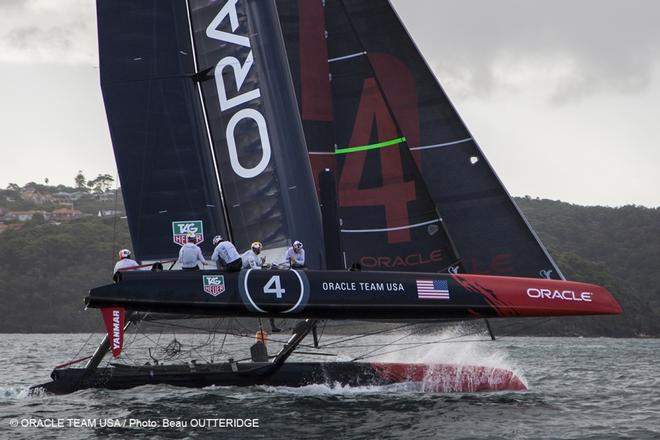 - Oracle Team USA - second training session in Sydney with Team Australia - AC45's © Oracle Team USA http://www.oracleteamusa.com
