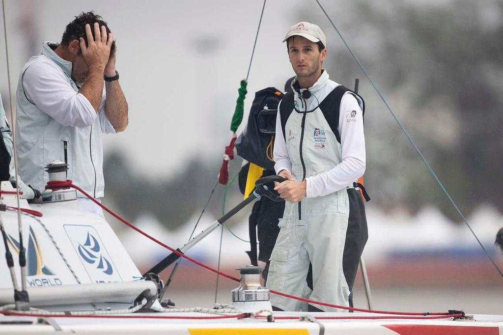 A huge loss for Mathieu Richard after being knocked out of the quarter finals of the Monsoon Cup 2010 as he was leading the Tour leaderboard coming to that event. © Subzero Images /AWMRT http://wmrt.com