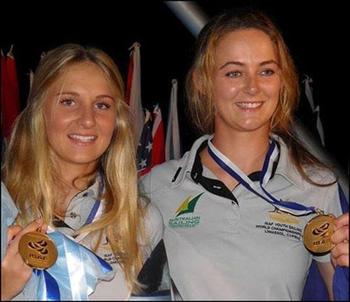 Carrie&Ella Silver Medal ©  Yachting WA . http://wa.yachting.org.au
