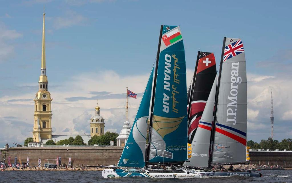 2014 Extreme Sailing Series, Act 4 © Lloyd Images/Extreme Sailing Series