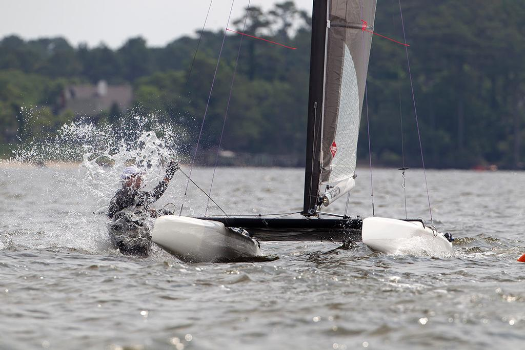 ISAF International A-Class Catamaran North American Championship 2014 © Ocean Images