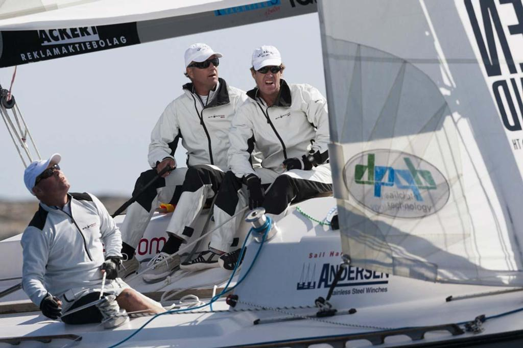 Magnus Holmberg and his team in action at the 2010 Stena Match Cup Sweden ©  Brandspot