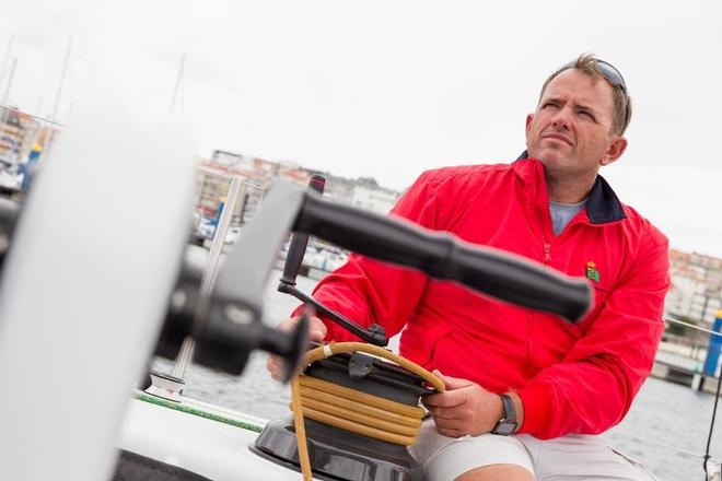 Rafa Trujillo (trimmer/helmsman) will be sailing for the Spanish team on the Volvo Ocean Race. © Volvo Ocean Race http://www.volvooceanrace.com