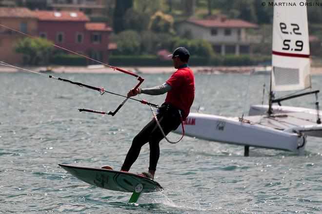 Cat and Board mo - Foiling Week 2014 ©  Martina Orsini