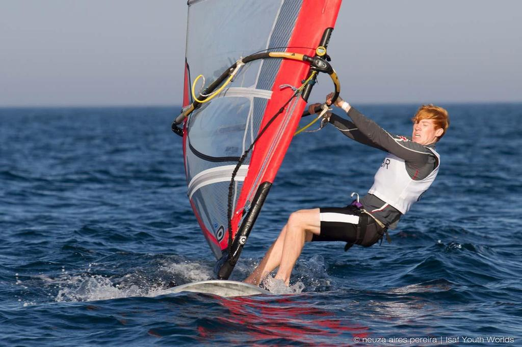 Robert York (RS:X boys) ©  Neuza Aires Pereira | ISAF Youth Worlds